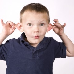 Pulling on Ears is Super-Fun According to Kids