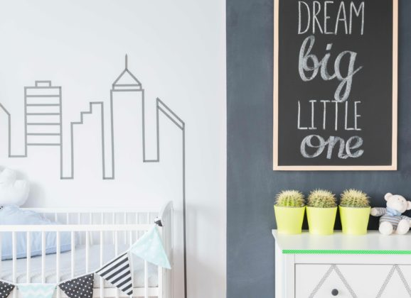 How to decorate a smart baby's nursery